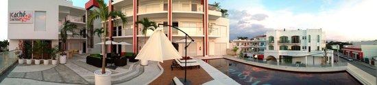 Cache Hotel Boutique: Vista panoramica desde la terraza lunge