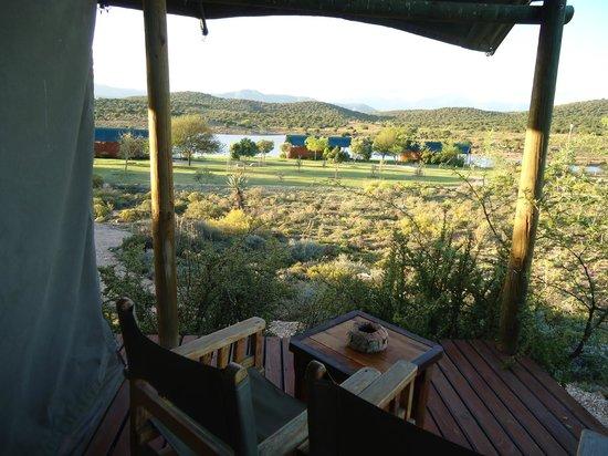 Buffelsdrift Game Lodge: uitzicht