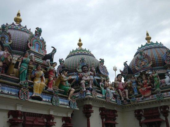 Inside Sri Mariamman Temple - Picture of Sri Mariamman ...