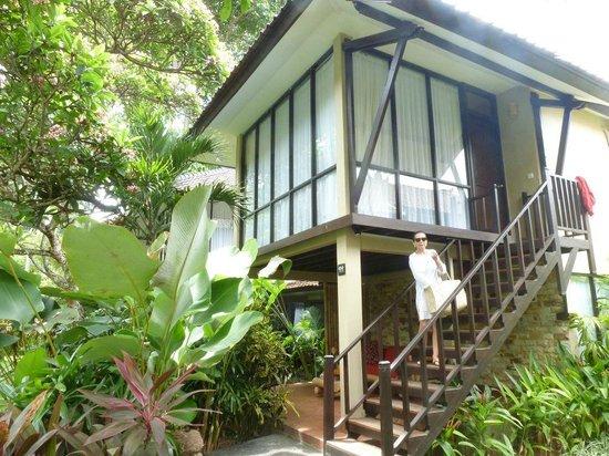 Segara Village Hotel: Unser Bungalow Nr.414