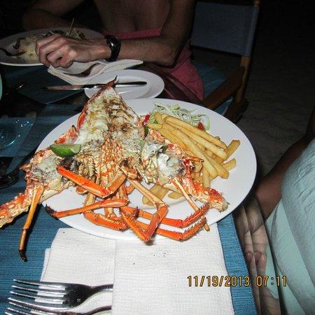 Goatie's: lobster