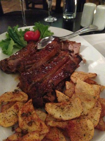 Sage Bistro: Juicy Pork Ribs