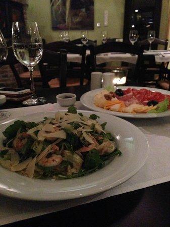 Sage Bistro: Tasty Parmesan Shrimp Salad