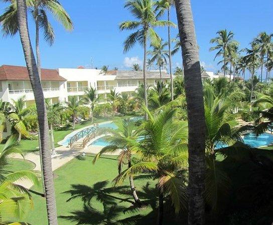 Secrets Royal Beach Punta Cana: Ausblick Balkon