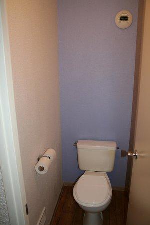 Novotel Aix en Provence Pont de l'Arc : Toilettes séparées.