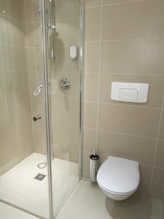 Steigenberger Hotel and Spa: shower