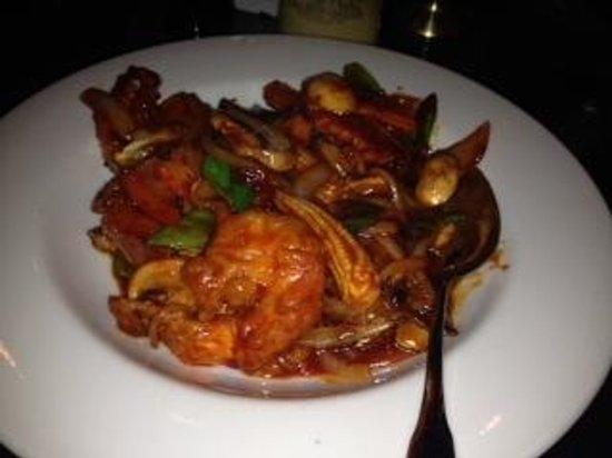 Oriental Wok: captain wongs w/shrimp