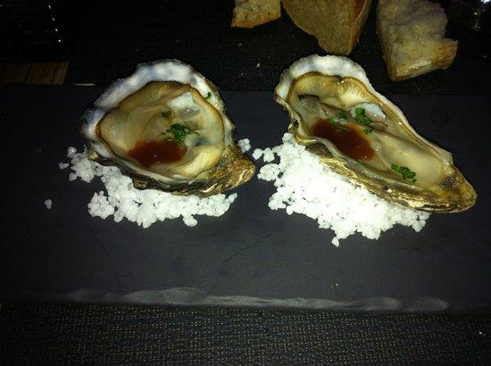 HANgoût Restaurant: Huître au Yuzu!!