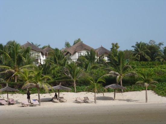 Les Alizes Beach Resort: Vue de la plage