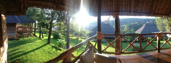 Neptune Ngorongoro Luxury Lodge : Room / Zimmer Balkon