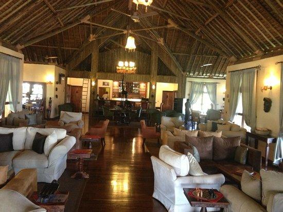Neptune Ngorongoro Luxury Lodge : Restaurant