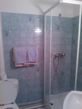 Hotel Luxia: dirty bathroom which leaked all the time