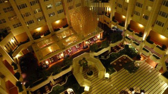 Hilton Prague: вид изнутри (с 8 этажа)