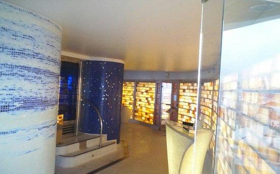 Bull Reina Isabel & Spa : spa on the top floor fantastic views