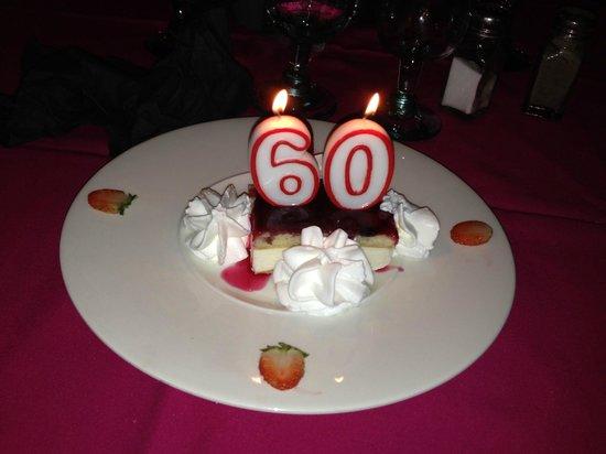 La Hacienda: 60th Birthday Cake