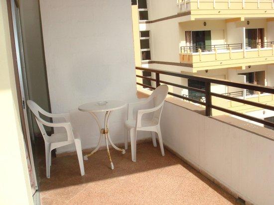 Hotel Trianflor: the balcony
