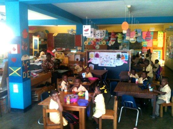 Trench Town Culture Yard : Dans l'école primaire