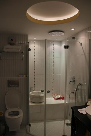 Ottoman Hotel Park: Shower