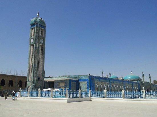 Mazar-i-Sharif, Afghanistan : Blaue Moschee