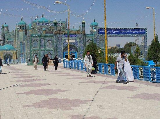 Mazar-i-Sharif, Afghanistan : Moschee