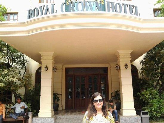 Royal Crown Hotel: Fachada do hotel