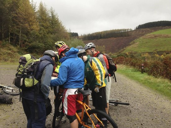 Blaenau Gwent, UK: Trail cycle leader courses