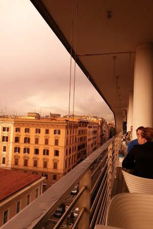 Radisson Blu es. Hotel, Roma : View from the terrace
