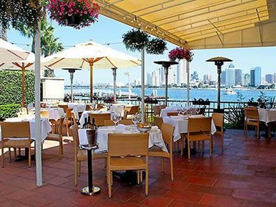 Il Fornaio: outdoor dining