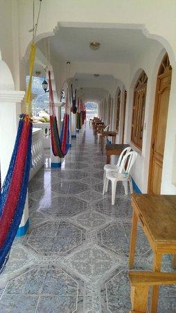 Hotel Nahual Maya : The upstairs