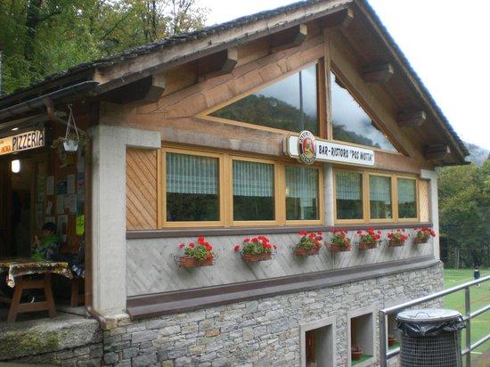 Pos Motta: il ristorante dall esterno