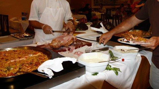 Hotel Oasis Park: Diner chef