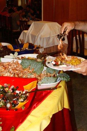 Hotel Oasis Park: Diner