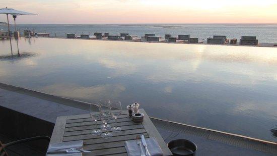 Restaurant La Co(o)rniche : vue