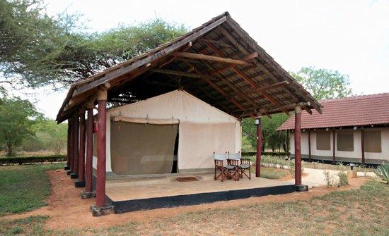 Eden Village Watamu Beach: Tenda al lodge ashnil