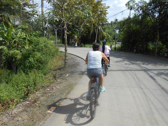ABC Amazing Bangkok Cyclist: Weg ausserhalb Bangkok