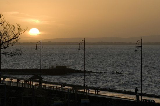 Sunrise at the Galway Bay Hotel
