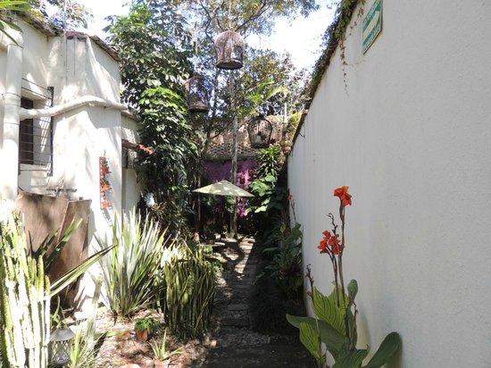 Rosa Morada Tlaquepaque: The courtyard