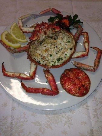 Restaurant Al Fanal: Granseola