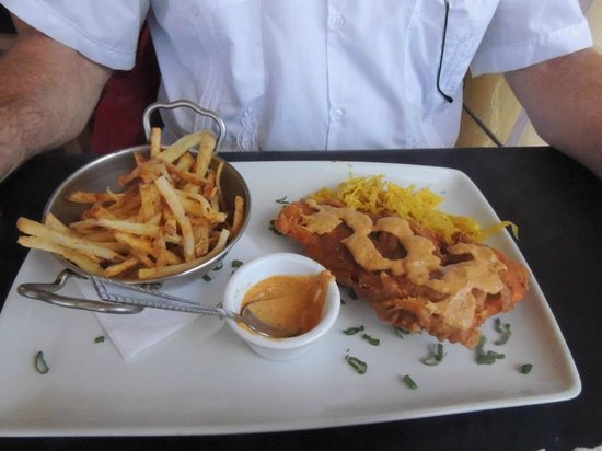 Gossip's Kitchen: Deep Fried Salmon