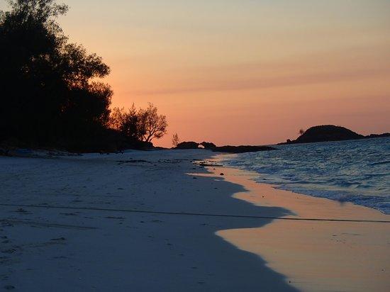 Constance Tsarabanjina : sunset