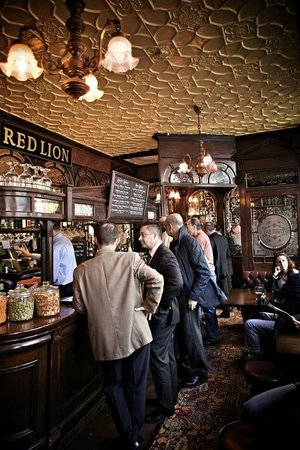 The Red Lion: Friendly surroundings