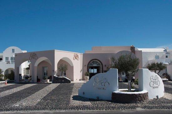 El Greco entrance