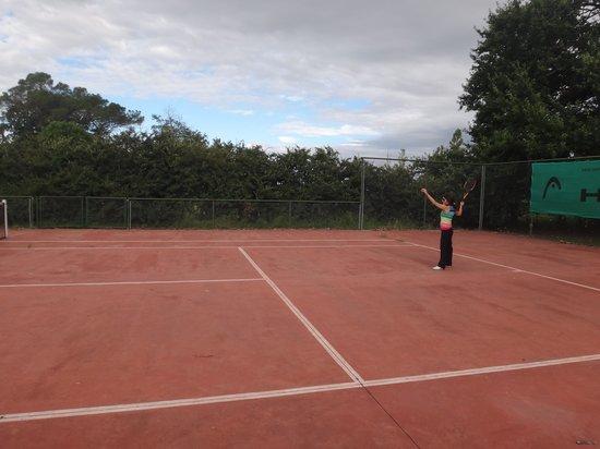 Estancia Bella Vista de Guerrero: cancha de tenis