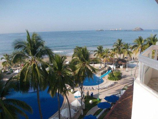 Krystal Ixtapa: Vista desde o quarto
