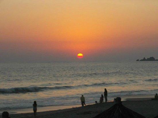 Krystal Ixtapa: Praia do hotel