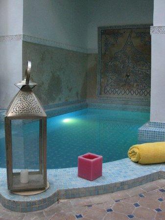 Riad Aloes: la piscine spa ...