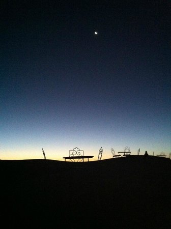 Auberge Sandfisch: Aspettando l'alba sulle dune del Sandfisch