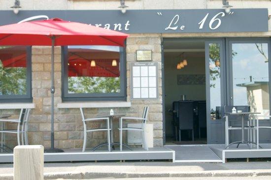 "restaurant ""Le 16"" : 5"