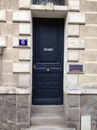 La Belle Adresse : L'entrée