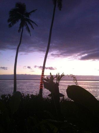 The Warwick Fiji: After sunset